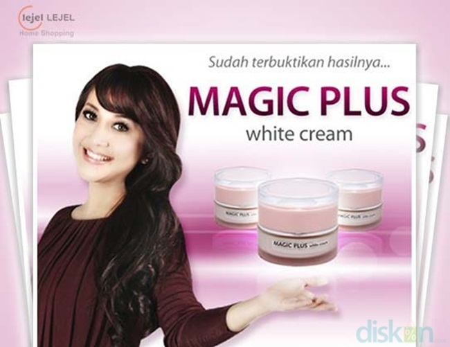 apa itu magic plus white cream