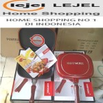 happy call double pan dari lejel home shoping